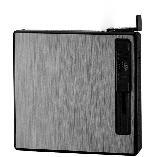 Cigarette Case Lighter Creative Windproof Automatic Pop-up Cigarette Circulation Inflatable Lighter Portable Smoking Accessories