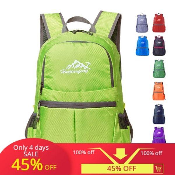 HUWAIJIANFENG Custorm спорт на открытом воздухе путешествие складной рюкзак Ультра легкий складной рюкзак
