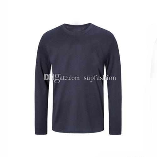 100% Designer De Luxo De Algodão Mens T Shirt Hip Hop Homem Do Vintage Primavera Design Homem Camisetas Moda Verão O Pescoço Dos Homens de Manga Longa Tees