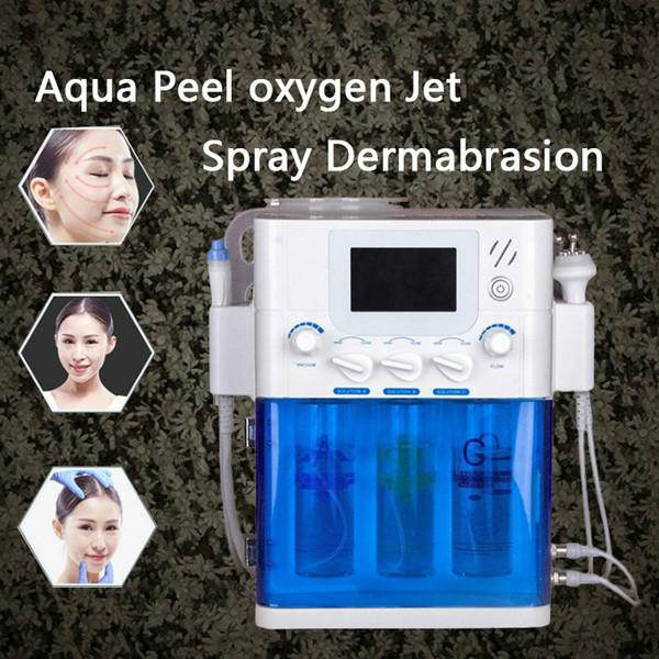 3 в 1 Cosmetik Aqua Diamond Микродермабразия Косметический аппарат Кислородный уход за кожей Вода Aqua Dermabrasion Пилинг Гидрафациальный RF Био-лифтинг