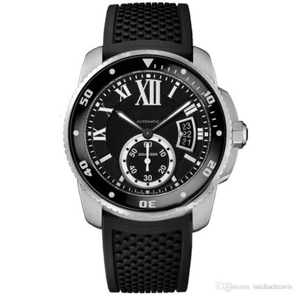2019 Vente Hot Mens Watch W69012z4 Blanc Série Calendrier Cadran automatique Boucle mécanique Sapphire montre-bracelet Livraison gratuite