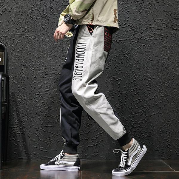 con sueltos pantalones pies en e bolsillos invierno guardan bolsos hombres  para pequeños anudados Otoño 8TSPqxq 5ae13afb3148
