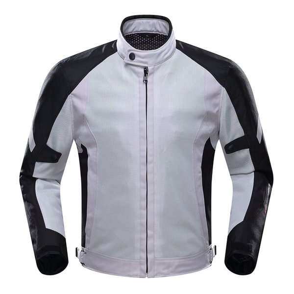 DUHAN Motorcycle Jacket Motorcycle Riding Protective Men Gear Breathable Mesh Moto Jacket Clothing for Spring Summer