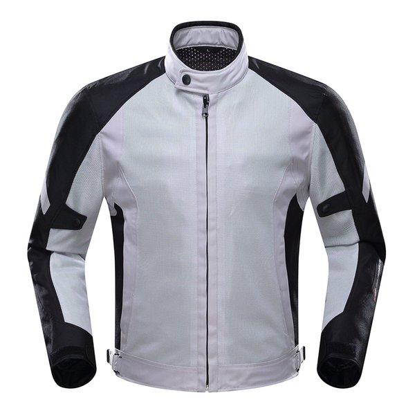 DUHAN Motocicleta Jaqueta de Equitação Da Motocicleta Homens Engrenagem de Proteção Respirável Malha Moto Jaqueta Roupas para a Primavera Verão