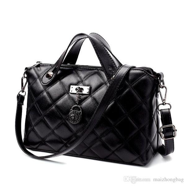 New Diamond moda malha mulheres, saco de ombro único saco da forma saco de inclinação laptop ombro senhora