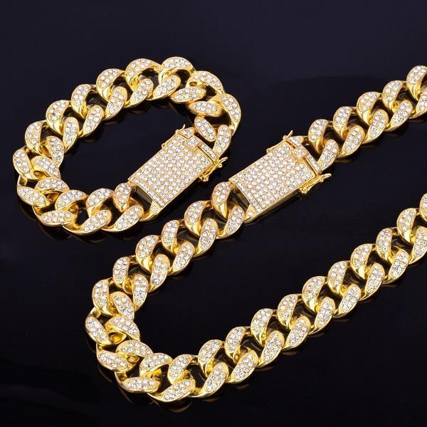 Collar de oro de 7 pulgadas con collar de 22 pulgadas.