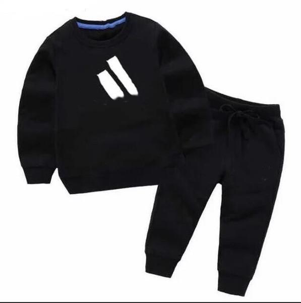 Vente chaude Marque Bébé Survêtements Printemps Automne Bébé Garçon Fille Coton Veste pleine manches + pantalon 2pcs / séries Garçons Kid Vêtements Set bébé