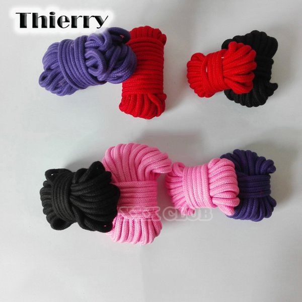Thierry 5M/10M bondage rope, slave restraint adult game, erotic products fetish toys for couple sex rope C18112701