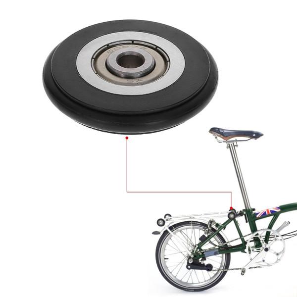 Bike Accessories Bicycle Bearing Plastic Easy Wheel Triangle Roller Bike Parts Repair Tools For Brompton #80340
