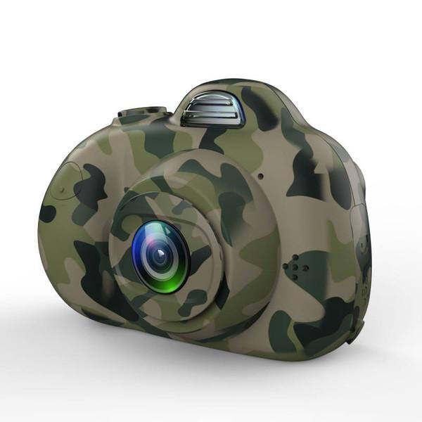 8G / 16G Sevimli Çocuk Dijital Kamera 2-inch 8MP Mini Çift Lens Çocuk Hediye Kamera SLR Kameralar ile Optik Görüntü Sabitleyici sıcak