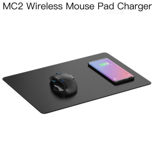 top popular JAKCOM MC2 Wireless Mouse Pad Charger Hot Sale in Mouse Pads Wrist Rests as biz model ecg ppg smart watch anillo inteligente 2021