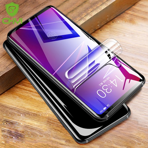 CHYI 3D Curved For meizu 16X Screen Protector 6.0 inch Full Screen Coverage Nano Hydrogel Film With Tool Not Tempered Glass