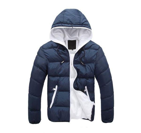 Зима Мужчины Куртки Теплые пальто мужские пальто с длинным рукавом Марка Спортивная зимняя куртка Down PARKAS человека Шинель M-4XL