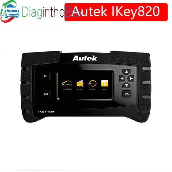 New Original Autek IKey820 Key Programmer Universal Professional Tool Car Auto Scanner Key Programmer Read Immobilizer Pin-Codes