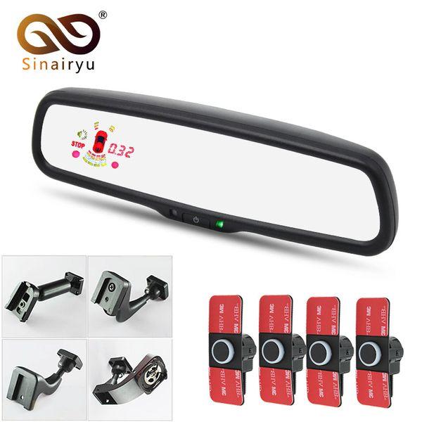 Sinairyu Sensore di parcheggio per monitoraggio specchietti retrovisori da 12 pollici con staffa originale Sensore radar piatto da 16 mm