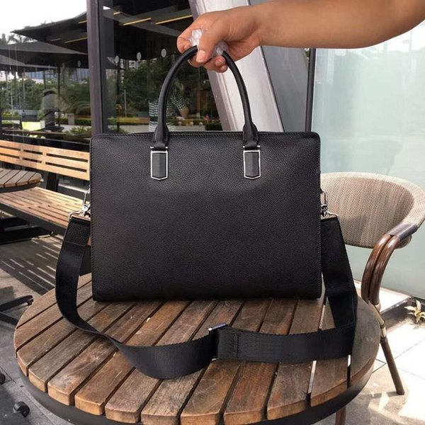 Rosa Sugao Mens Cartella Borse Business pdmetal borsa a tracolla Borsello superiore genuino della mucca Mens Messenger Bag tote per il lavoro