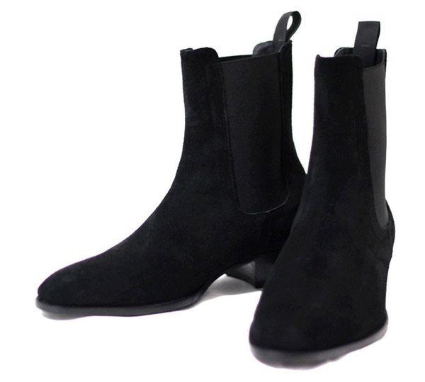 Wyatt Biker Boot Big Size euro 38-46 Slp Cowboy Booties Mens Harness Boots Shoes