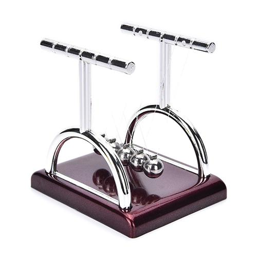 Newton's Cradle Balance Steel Balls Early Fun Development Teaching Physics Science Pendulum Desk Toy Gifts For Kids