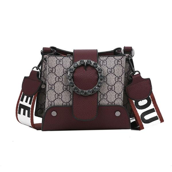 Дизайнер плеча Сумка Женщины Известные моды Brands женская сумка 2019 Новый дизайн Роскошные сумки Женские сумки Crossbody