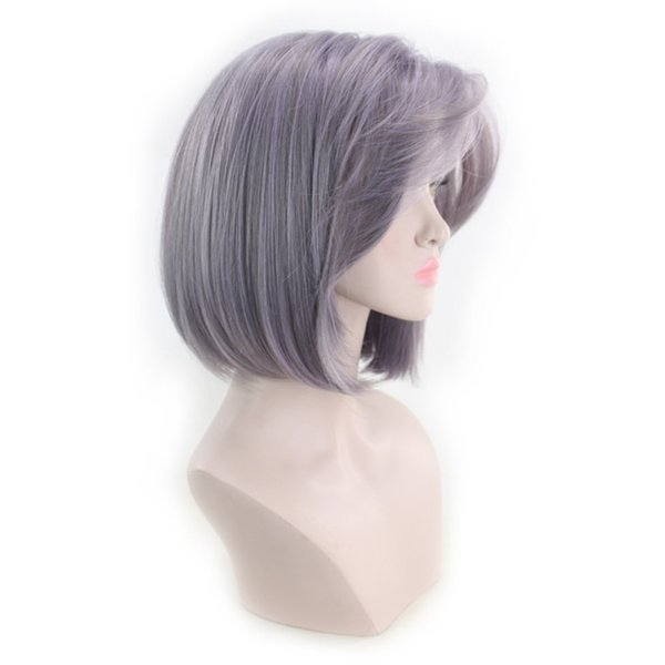 Howl/'s Moving Castle Sophie Hatter 32cm Short Silver Gray Cosplay Hair Wig