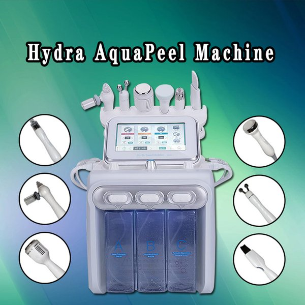 Protable Hydro Microdermabrasion hydra facial Skin Care Cleaner Water aqua Jet Oxygen Peeling Spa Dermabrasion Machine