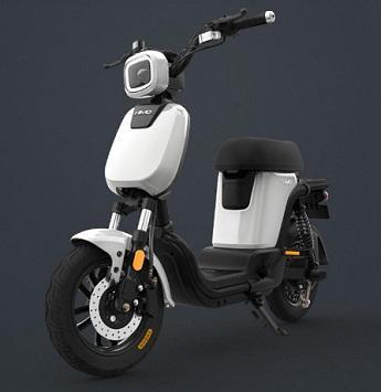 Xiaomi HIMO T1 350 W 14 Polegada Bicicleta Elétrica 1.12kW 100 km / h Faixa de Milhagem 60-120 km de Bicicleta Elétrica Carga Máxima 150 kg - Cinza