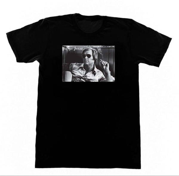 Plain T Shirts Crew Neck Men Short-Sleeve Tall George Jones T Shirt