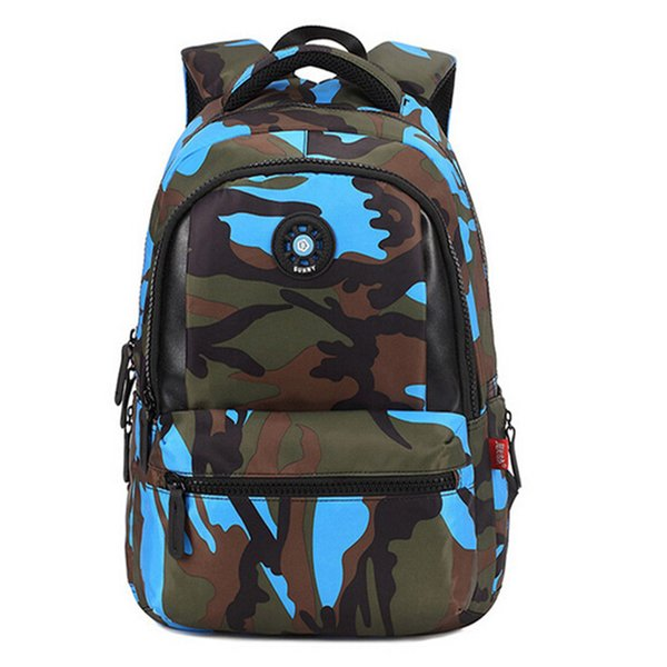 Small Size Fashion Camouflage Kid Backpack Bag School Bags Travel Backpack Bags For Cool Boy And Girl
