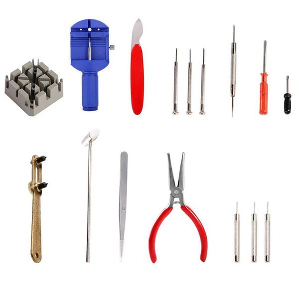 Watch Repair Kit,Repair Table Tools Watch Repair Kit Professional Practical Multi-function Tool-Clock Plastic Packaging With H