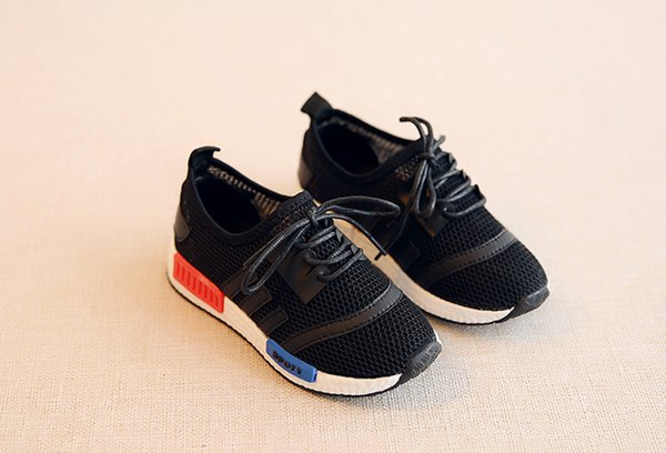 best selling Shoes Athletic Outdoor Children's sports mesh summer girls shoes slip new brand boys breathable casual shoes Fashion color matchi