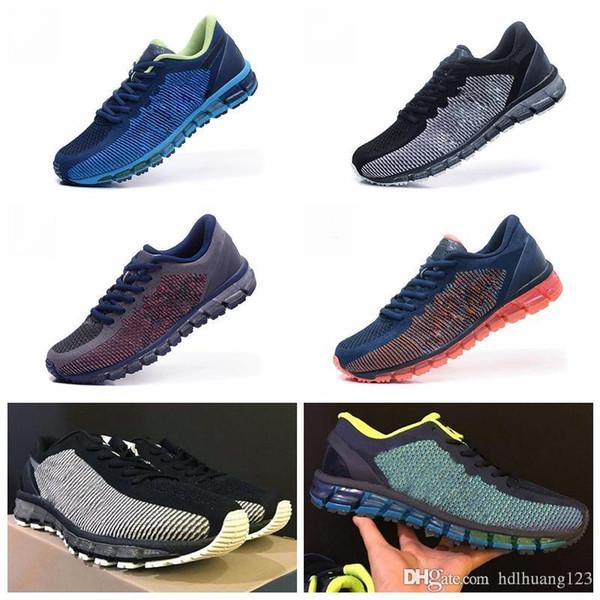 2018 Yeni Orijinal GEL-QUANTUM 360 CM T6G1N / T5J1N-0990 Renk Değişikliği Koşu Ayakkabıları Erkekler En Kaliteli Botlar Spor Sneaker Ayakkabı Boyutu 40-45