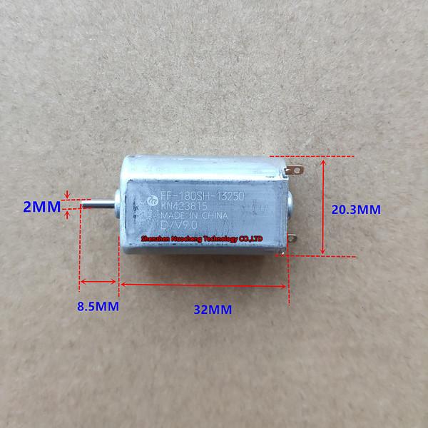 best selling Brand new and original Mabuchi 180 micro DC motor 9V 12V precious metal brush motor FF-180SH shaver motor~