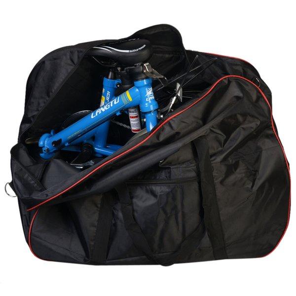 ROSWEHEEL High Quality Folding Bicycle Bag Black