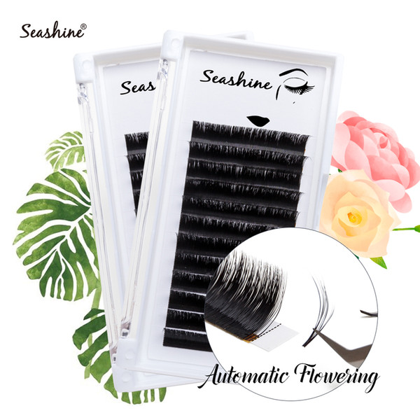 Seashine Easy Fans Eyelashes Extension Handmade Volume Lashes Natural Soft Lash Extension For Professionals Lash Free Shipping