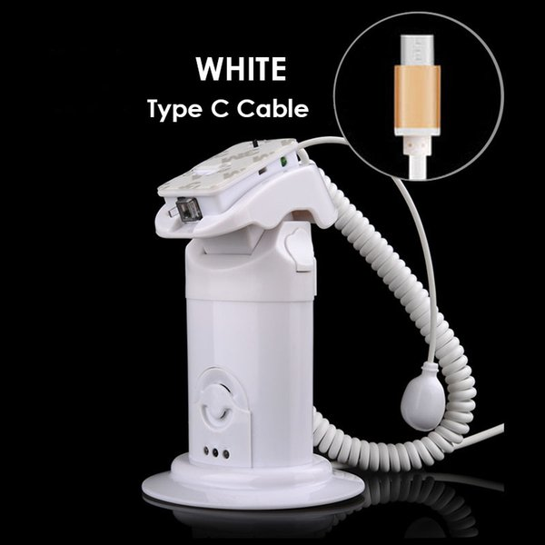 White Type C cable