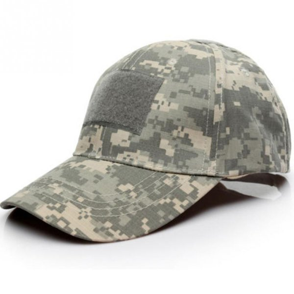 camouflage tactical baseball cap snapback patch tactical acu cp desert camo hats for men 6 patterns, Blue;gray