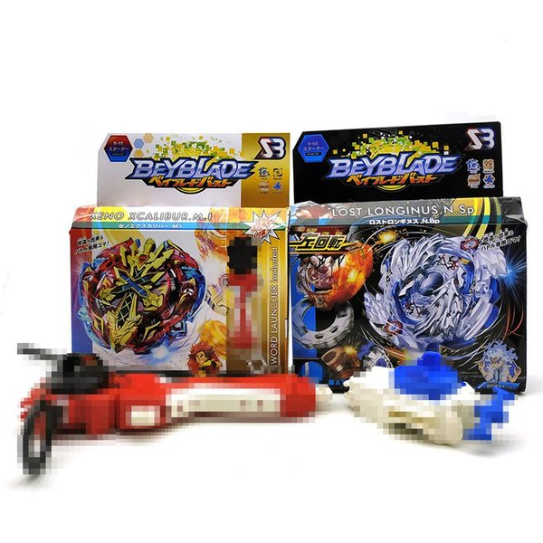 4D Beyblade Burst B48 B66 Fighting Battle Spinning Top Set Beyblade With Launcher Kid Spinner Burst Toys For Boys Children Gifts