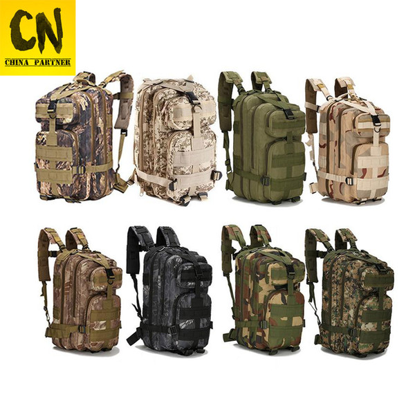 ON SALECamouflage Backpack Travel Backpack Men Drop Ship Bag 3P Zaini di tela maschile Zaini di grande capacità Zaino impermeabile