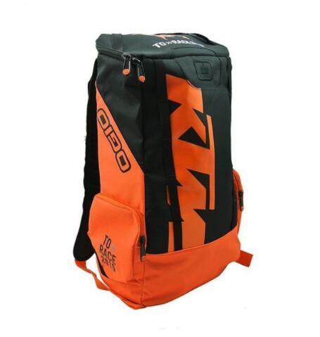 Motorbike Helmet Bag For Ktm Moto Backpack Shoulders Laptop Top Case Mens Motorcycle Luggage Motocross Waterproof Bicycle Helmet Bag
