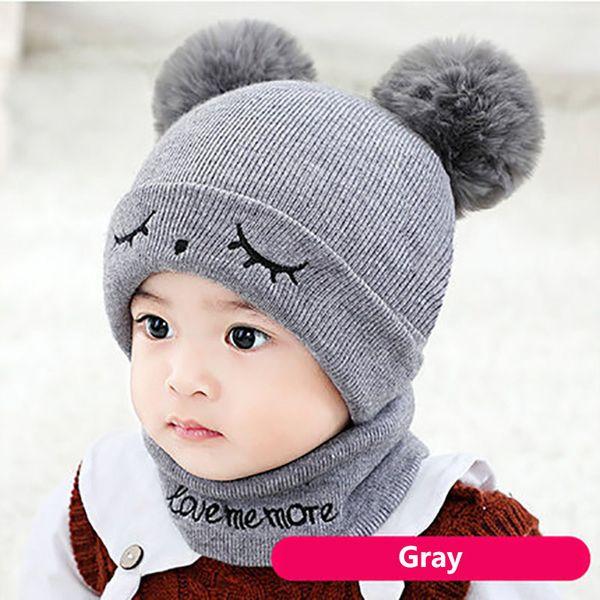 Eyes gray