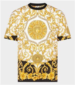 Marca Diseñador de moda de calidad superior camiseta Hip Hop italia Hombres mujeres Ropa Casual cuello redondo Algodón Letras Impreso Camisetas de lujo 31