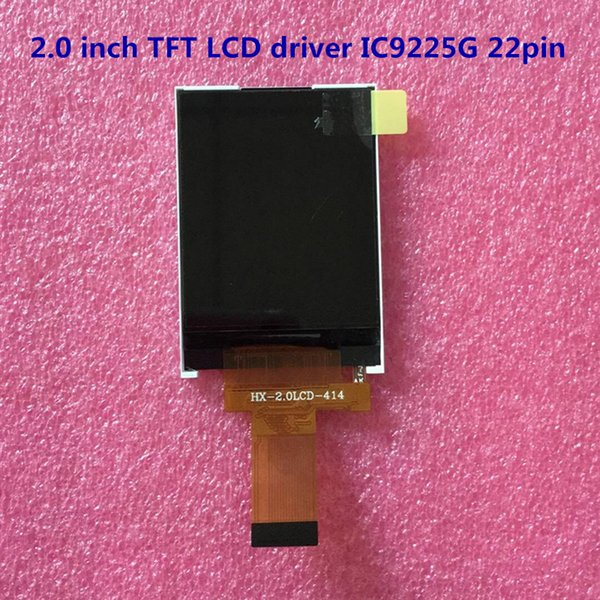 2.0 inch TFT LCD driver IC9225G 22pin LCD screen Mobile phone display Industrial display Display accessory components