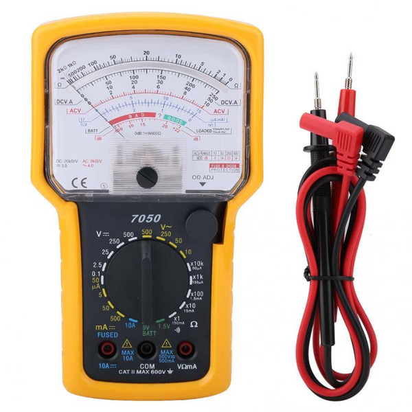clamp meter KT7050 Multifunction High Sensitivity High Accuracy Ohm Test Meter Analog Multimeter multimetr