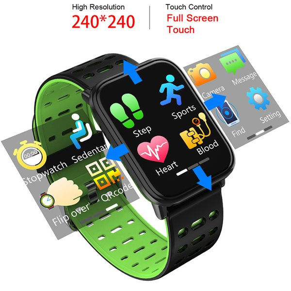 Smart Watch Men Heart Rate Monitor Blood Pressure Fitness Tracker Smartwatch Sport Smart Clock Wristwatch For IOS Women