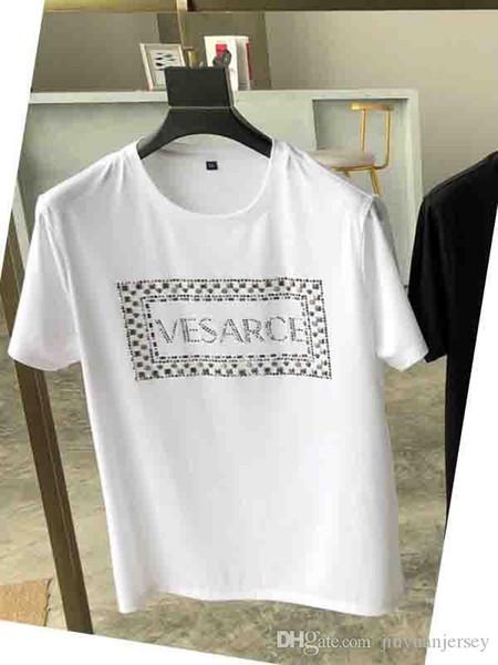 Mode Herren / Damen Designer T Shirts mit Branded Letters Kurzarm Luxus ff Marke Tops Kleidung Tees Casual T-Shirt Neu eingetroffen