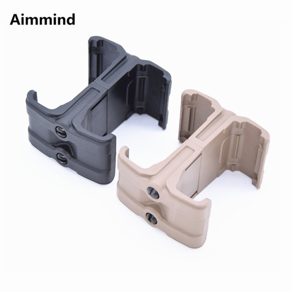 Tactical M4 MAG595 Magazine Parallel Connector Double Mag Coupler Clip Holder Airsoft Hunting Accessories