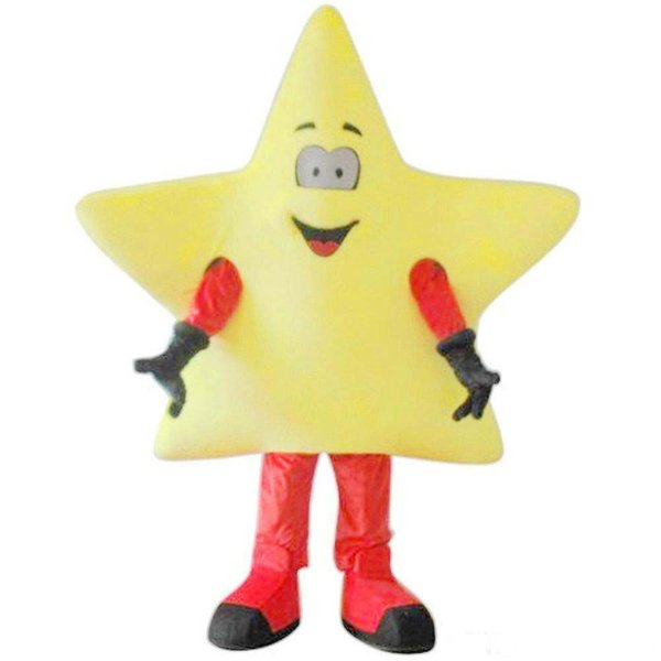 Fábrica de lujo de lujo traje de la mascota de la estrella EVA con ventilador Patio de juegos Carnaval