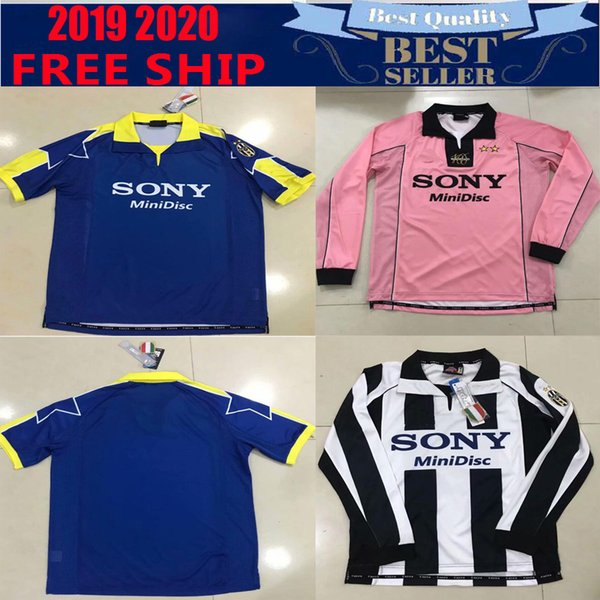 separation shoes d98f1 cea82 2019 Juventus ZIDANE RETRO SOCCER JERSEYS DEL PIERO 97 98 Long Sleeve  JERSEY INZAGHI Deschamps FOOTBALL SHIRTS Football Shi From Topjerseys1718,  ...