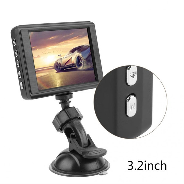 جديد DVR كاميرا 3.2 بوصة HD 1080P سيارة DVR مرآة الرؤية الخلفية كاميرا للرؤية الليلية القيادة فيديو مسجل سيارة داش