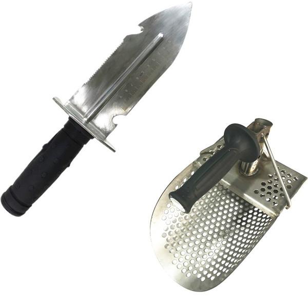 Bıçak + kum kepçe